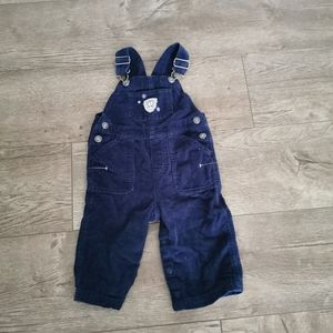 2/$15 Carter's Curdory overalls navy blue 12 M